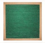 scheda della lettera del feltro del blocco per grafici della quercia 10X10inches con le lettere variabili 340PCS