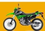 Les motos Les pièces en plastique, Kawasaki KLX250 Couvercle gauche et droit blanc (couleur)