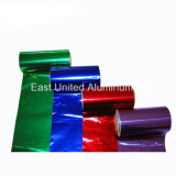 Алюминиевая фольга с различных цветов