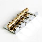 黄銅は4つのストリング低音キットのための型の低音橋にサドルを置く