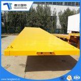 Welle Tri-Welle des China-heiße Verkaufs-40tons 3 Flachbettschlußteil mit Behälter-Verschluss für Verkauf