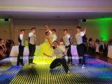 Venda por grosso Super Fino para instalar um segundo estágio DJ iluminação LED magnético sem fio de casamento de Dança