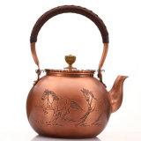 Cobre chinesas bule de chá de Cobre Taça