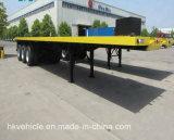 Flachbett-Behälter-halb Schlussteil des China-Fabrik-Preis-3-Axle 40FT
