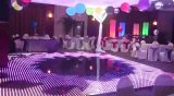DJ boda al por mayor etapa de iluminación LED magnético inalámbrico pista de baile
