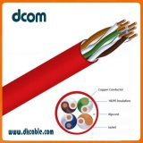 El cobre Cat5e UTP Cable LAN 24 AWG 305m de red de ordenadores