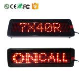 Visualizzazione di LED pH 7.62 scheda del segno della barra dei messaggi dell'indicatore luminoso della visualizzazione di LED di Rg di 740 serie mini e della visualizzazione di messaggio del segno