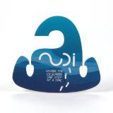 Новый дизайн Sinicline Логотип из переработанного картона толщиной благоухающем курорте подвес