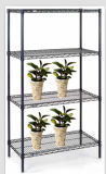 Fácil de montar el cable de efecto invernadero de flores estanterías para mostrar