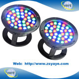 Yaye 18 Best Sell 9W / 12W / 18W / 36W RGB LED subaquática / 36W LED Fountain Light / 36W RGB LED Pool Lights com IP68
