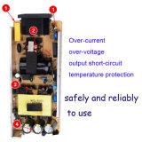 Alta qualità e grande corrente 220V allo zoccolo dell'adattatore dell'automobile di 12V 10A per la macchina fotografica ed il computer portatile di Digitahi