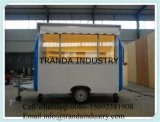 Uso de los huéspedes de refrigeración Transportadores Cocina furgonetas
