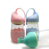 Bottiglia di acqua di vetro calda di figura 280ml di vendita (CHB8010)