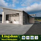 Entrepôt/atelier modulaires d'usine de construction de bâti en acier/jeté