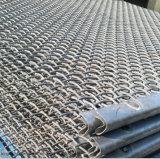 Engranzamento de fio frisado usado como a tela de vibração na mineração