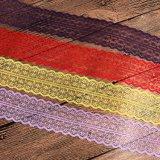 Mais laço Não-Elástico bem escolhido da cor para acessórios do vestido