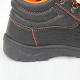 Chaussures de sécurité (haut : Unité centrale Sole en cuir : Le caoutchouc). Chaussures de travail