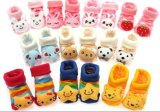 동물성 Head 3D Cute Cotton Baby Socks