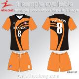 Sportswear Healong подгонял футбол Джерси печатание сублимации износа футбола