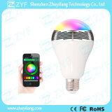 지능적인 APP 통제 무지개 빛깔 LED 램프 전구 Bluetooth 스피커 (ZYF3078)