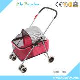 Carrinhos de criança feito-à-medida do portador que dobram o carrinho de criança do cão de animal de estimação
