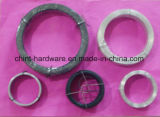 工場からの安い価格のPVCによって塗られる巻く鉄ワイヤー