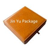 Rectángulo de empaquetado determinado del caso del almacenaje de la joyería del regalo de Faxu