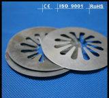 Embutición profunda de encargo del metal de hoja que estampa piezas