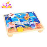 Giocattolo di legno del labirinto del nuovo mondo del mare educativo più caldo per i capretti W11h038