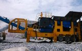 Mobiele Stenen Maalmachine voor Harde Rots 250tph (WL38E69)
