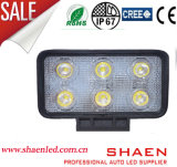 Luz al por mayor del trabajo de la luz de conducción del LED 18W LED