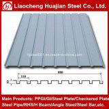 Lamiere di acciaio ondulate galvanizzate del tetto usate per il materiale di tetto