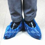 Cubierta plástica del zapato del recinto limpio disponible que hace el fabricante de la máquina