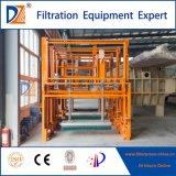 Klärschlamm-entwässernmembranen-Filterpresse mit Selbsttuch-waschender Einheit