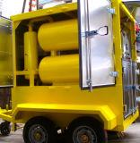 Planta móvil de la purificación de petróleo, máquina del purificador de petróleo del transformador del alto vacío