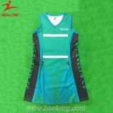 中国の熱い販売のスポーツの摩耗のカスタム昇華ネットボールの服