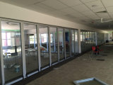 De de demonteerbare Muren van de Verdeling van het Glas/Muur van het Glas voor Bureau, Winkelcomplex, Markt