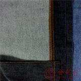 Qm3518A algodón poliéster Denim Jeans para la moda