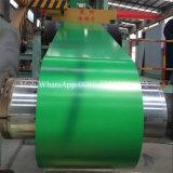Bobina de acero galvanizada prepintada
