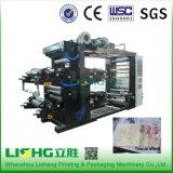 Tipo de pila multicolor la máquina de impresión Flexo para rodar