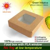 مربّعة [كك بوإكس] طعام صندوق مع نافذة [أنتيفوغّينغ] ([ك85])