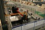 Type carré constructeur en verre panoramique de levage de Bsdun avec la machine sans engrenages de traction