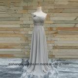 Brautjunfer kleidet weg vom Schulter-reizvollen Hochzeitsfest-Kleid an