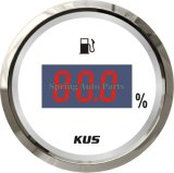 All Cars Boats Trucksのための普及した52mm DIGITAL LED Fuel Level Gauge Fuel Level Meter
