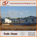 Helles Stahlzwischenlage-Panel-bewegliches/modulares Gebäude/fabrizierte vor,/Fertiglager-Familien-Haus