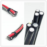 Triplex ASTM ABC Kabel, Kabel van de Bundel van de Isolatie PE/XLPE de Lucht