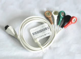 New Product Disposable ECG Carbon Fiber ECG Cables