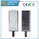 indicatore luminoso di via solare di 25W LED con 2 anni di garanzia (HFT5-25)