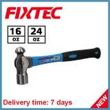 Молоток Pein шарика Fixtec 24oz с ручкой волокна