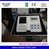 Le sol NPK les équipements de test rapide de la fertilité du sol testeur en éléments nutritifs